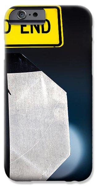 Dead End iPhone Case by Bob Orsillo