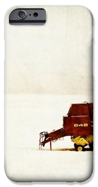 Farm iPhone Cases - Dead of Winter iPhone Case by Edward Fielding