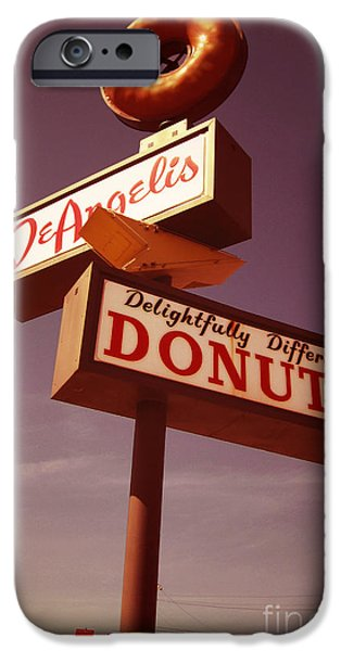 Beaver Digital iPhone Cases - DeAngelis Donuts iPhone Case by Jim Zahniser
