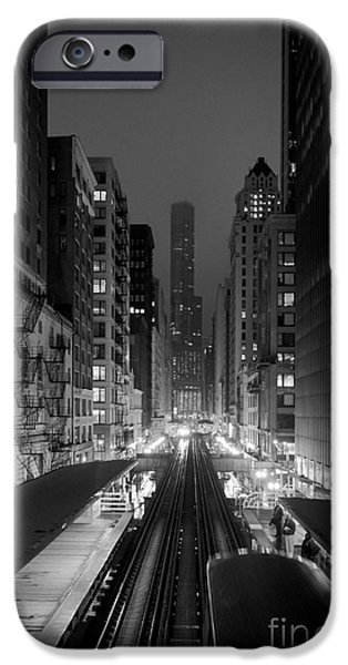 Willis Tower iPhone Cases - Dear Chicago Youre Beautiful iPhone Case by Peta Thames
