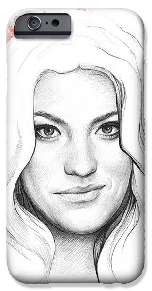 Debra Morgan - DEXTER iPhone Case by Olga Shvartsur