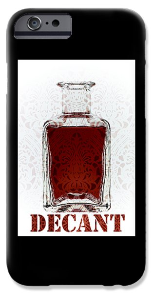 Cellar iPhone Cases - Decant iPhone Case by Frank Tschakert