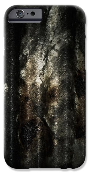Creepy iPhone Cases - Decay iPhone Case by Wim Lanclus