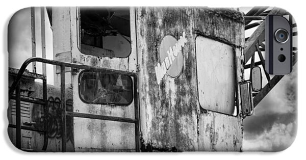 Machinery iPhone Cases - Decayed Glory - 5 iPhone Case by Rudy Umans