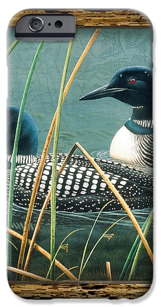 Deco Loons iPhone Case by JQ Licensing