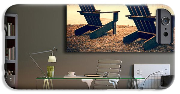 House Art Photographs iPhone Cases - Decorating with fine art photography iPhone Case by Edward Fielding