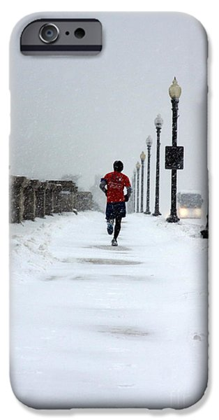 Nike iPhone Cases - Dedication iPhone Case by Andrew Romer