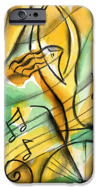 Freed Paintings iPhone Cases - Dedication iPhone Case by Leon Zernitsky