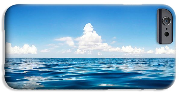 Sea iPhone Cases - Deep Blue iPhone Case by Nicklas Gustafsson