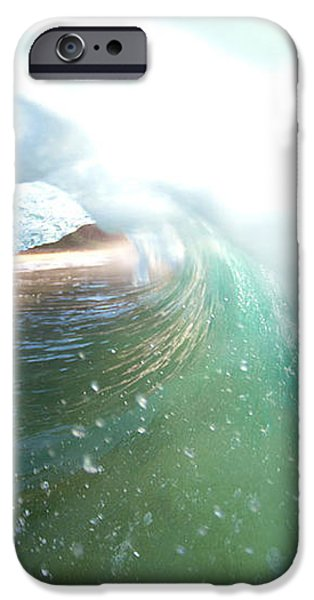 Deep Green iPhone Case by Sean Davey