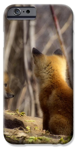Deep In Thought 1 iPhone Case by Thomas Young