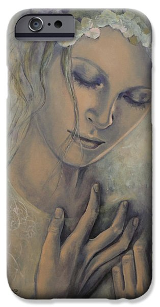 Deep Inside iPhone Case by Dorina  Costras
