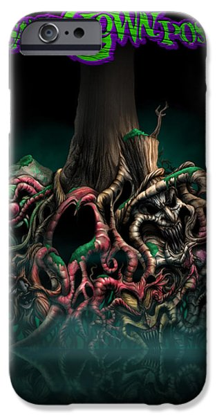 Tree Roots iPhone Cases - Deep Roots iPhone Case by Tom Wood