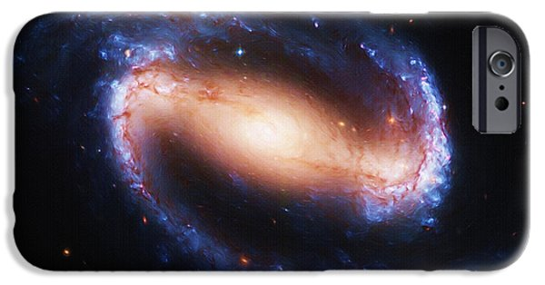 Fineart iPhone Cases - Deep Space iPhone Case by Ayse Deniz