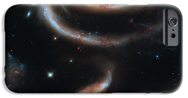 Heaven Photographs iPhone Cases - Deep Space Galaxy iPhone Case by The  Vault - Jennifer Rondinelli Reilly