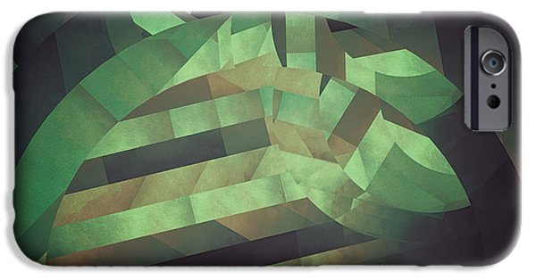 Otherworldly iPhone Cases - Deeper Deformations iPhone Case by LC Bailey