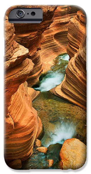 Deer Creek Slot iPhone Case by Inge Johnsson