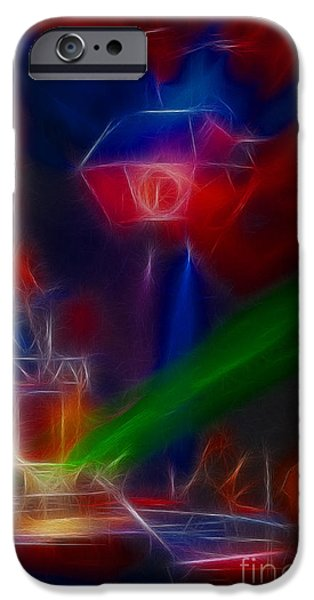 Def Leppard iPhone Cases - Def Leppard-Adrenalize-GF12-Fractal iPhone Case by Gary Gingrich Galleries