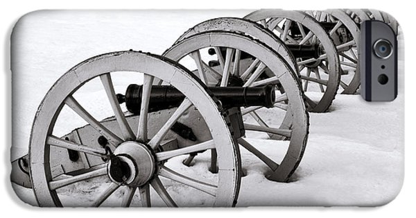 Artillery iPhone Cases - Defensive   iPhone Case by Olivier Le Queinec