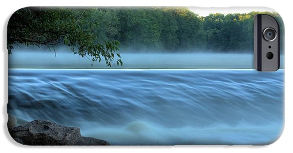 Fog Mist iPhone Cases - Defining Edge iPhone Case by Bonfire Photography