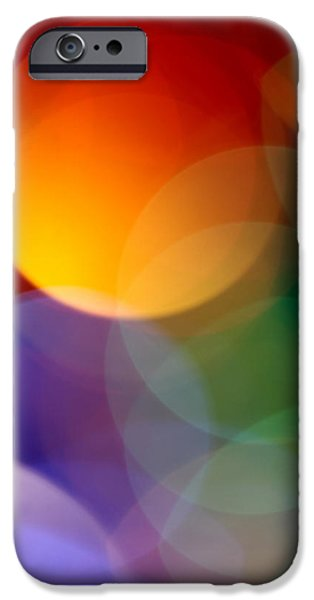 Abstract Digital Photographs iPhone Cases - Deja Vu 1 iPhone Case by Dazzle Zazz