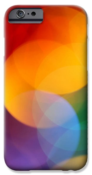 Abstract Digital Photographs iPhone Cases - Deja Vu 2 iPhone Case by Dazzle Zazz