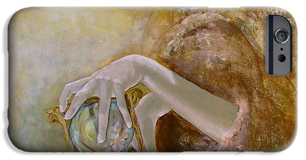 Love Laces iPhone Cases - Deja vu iPhone Case by Dorina  Costras