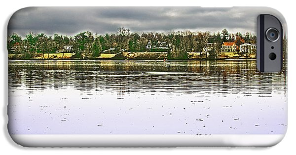 Dunk iPhone Cases - Delaware River Bucks County iPhone Case by Tom Gari Gallery-Three-Photography