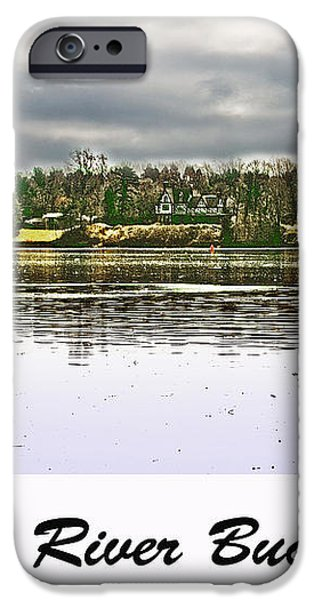 Delaware River Bucks County iPhone Case by Tom Gari Gallery-Three-Photography