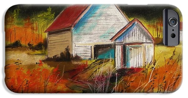 Jmw Pastels iPhone Cases - Delaware Valley iPhone Case by John  Williams
