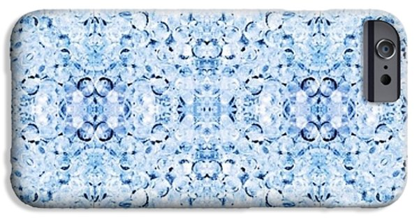 Painterartistfin iPhone Cases - DELFT BLUE HOME DECOR WALL and WRAPPING PAPER iPhone Case by PainterArtist FIN