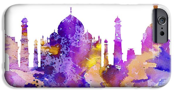 Recently Sold -  - United iPhone Cases - Delhi iPhone Case by Luke and Slavi