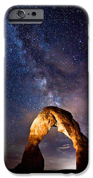Darren iPhone Cases - Delicate Light iPhone Case by Darren  White