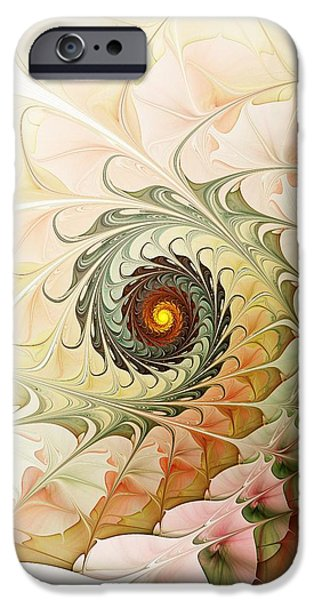 Delicate Wave iPhone Case by Anastasiya Malakhova