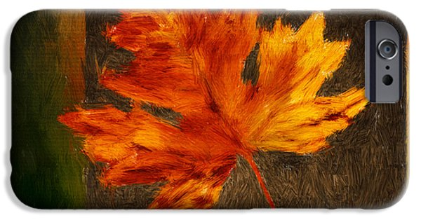 Contemporary Home iPhone Cases - Delightful Fall iPhone Case by Lourry Legarde