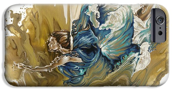 Human Figure iPhone Cases - Deliver iPhone Case by Karina Llergo Salto