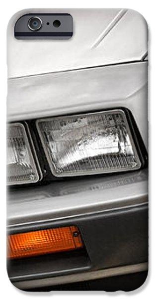 DeLorean DMC-12 iPhone Case by Gordon Dean II