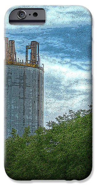 Delray Tower iPhone Case by MJ Olsen