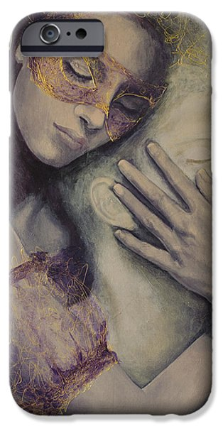 Delusion iPhone Case by Dorina  Costras