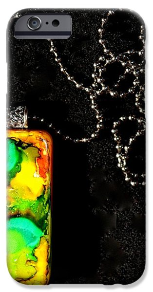 Vintage Jewelry iPhone Cases - Delve iPhone Case by Beverley Harper Tinsley