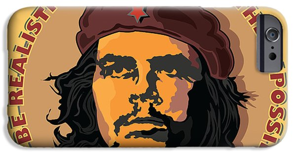 Counterculture iPhone Cases - Demand The Impossible iPhone Case by Larry Butterworth