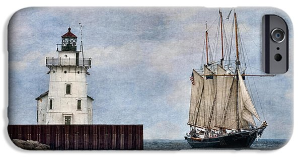 Before The Mast iPhone Cases - Denis Sullivan iPhone Case by Dale Kincaid