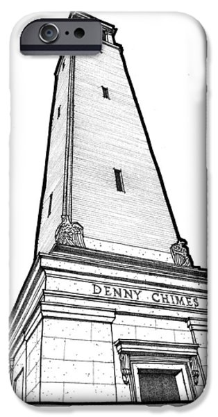 Denny Chimes iPhone Case by Calvin Durham