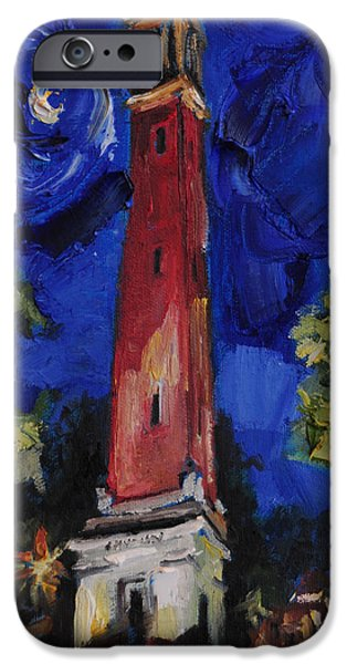 University Of Alabama iPhone Cases - Denny Chimes iPhone Case by Carole Foret