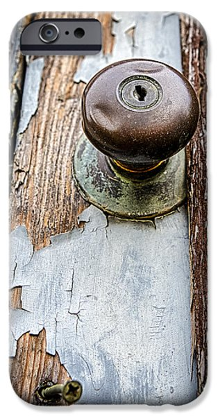 Dented Doorknob iPhone Case by Caitlyn  Grasso