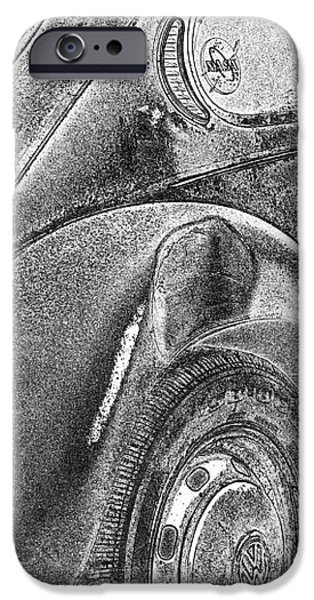 Beatles iPhone Cases - Dented Ego iPhone Case by Jean OKeeffe Macro Abundance Art