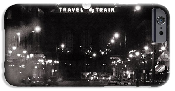 Rio Grande iPhone Cases - Denver Union Station Square Image iPhone Case by Ken Smith