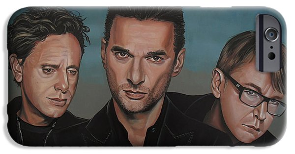 Fletcher iPhone Cases - Depeche Mode iPhone Case by Paul  Meijering