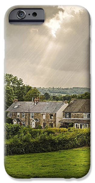 Derbyshire Cottages iPhone Case by Amanda And Christopher Elwell