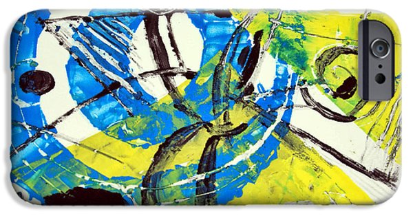 Printmaking iPhone Cases - Dervish iPhone Case by Alexandra Jordankova